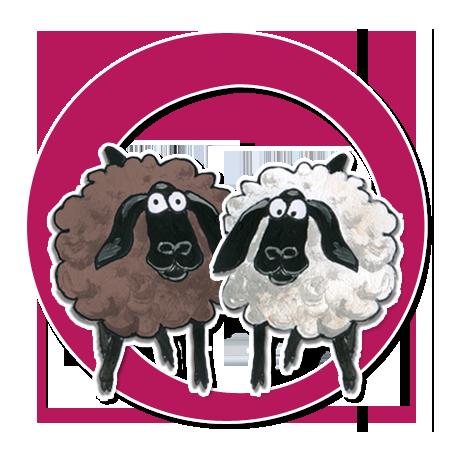 Die Schafe Gustav, Wolli und Wilma