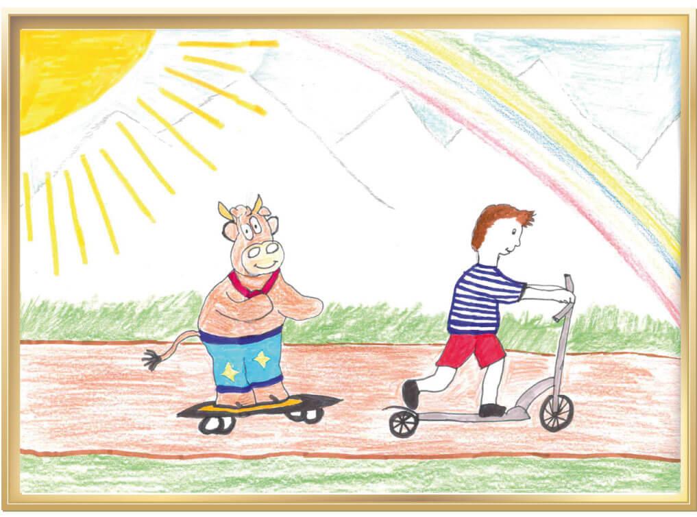Friederike in allen Lebenslagen von Jonas, 10 Jahre aus Oranienburg