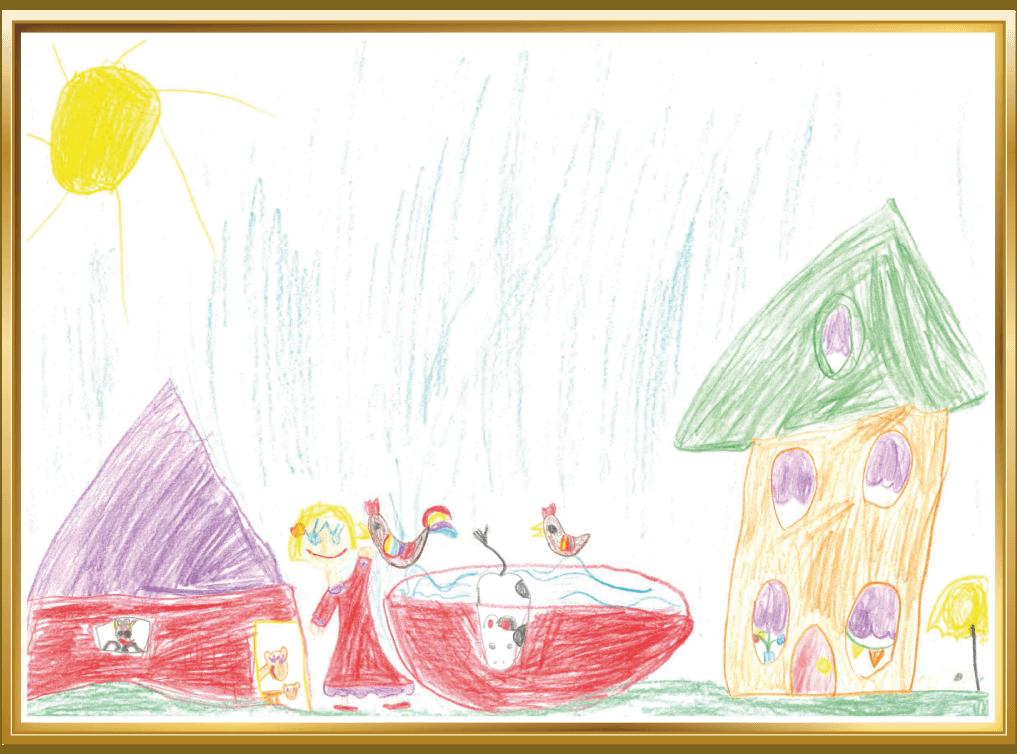 Sommer auf dem Bauernhof von Ilvie, 6 Jahre aus Mülheim