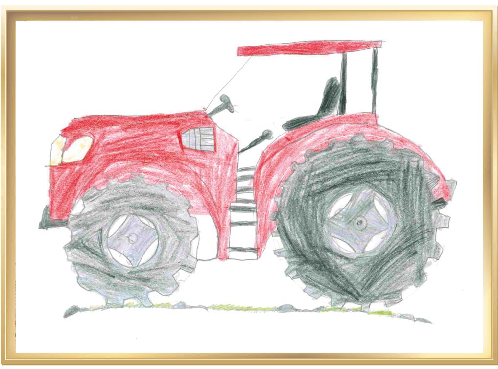 Alles was Räder hat auf dem Bauernhof von Emilia, 10 Jahre aus Angelbachtal