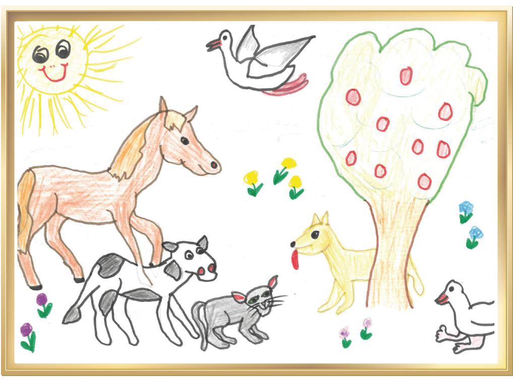 Dein Tag auf dem Bauernhof von Mathilda, 4 Jahre aus Veitshöchheim