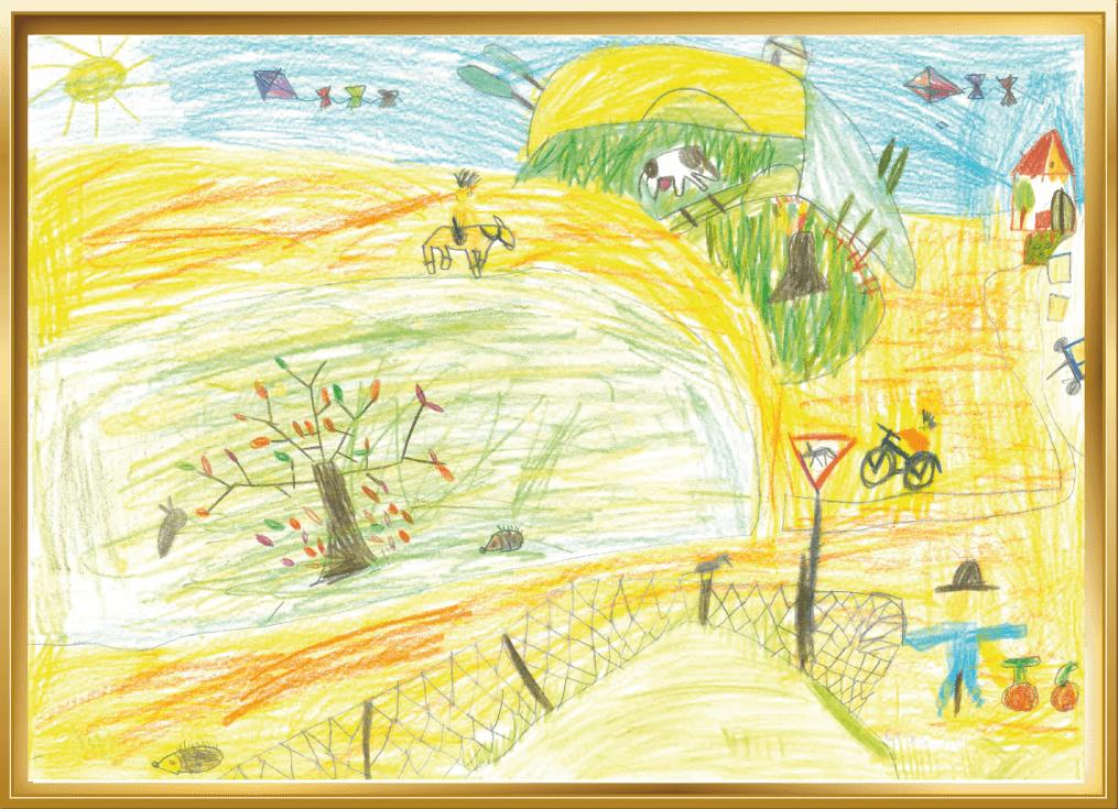 Herbst auf dem Bauernhof von Malina , 5 Jahre aus Nottuln