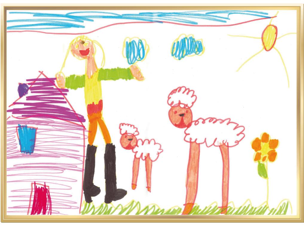Süße Lämmchen auf dem Bauernhof von Lisa, 5 Jahre aus Raesfeld