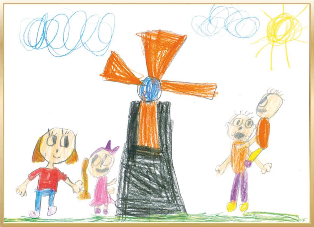 Mein schönstes Erlebnis auf dem Bauernhof von Michaela, 6 Jahre aus Lippstadt