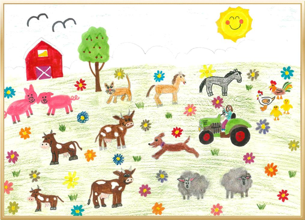 Meine spannende Traktorfahrt auf dem Bauernhof von Suna, 11 Jahre aus Otterfing